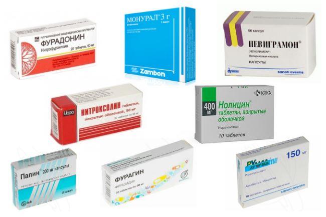Топ лекарств от цистита
