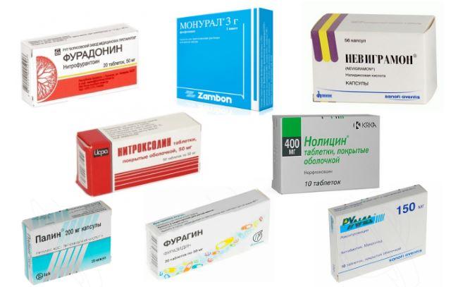 Какие антибиотики пить при цистите