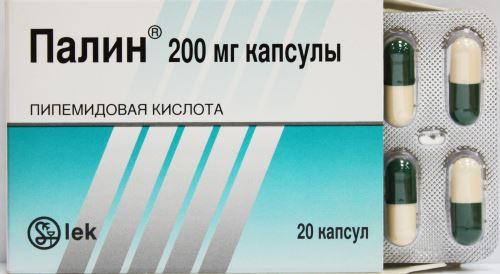 Таблетки Палин