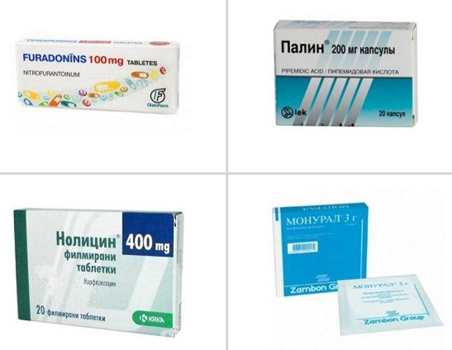 Препараты для лечения цистита у мужчин