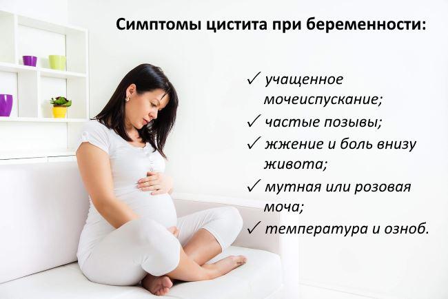 Цистит при беременности второй триместр